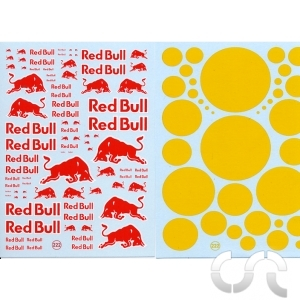 Planche décalque: Red Bull