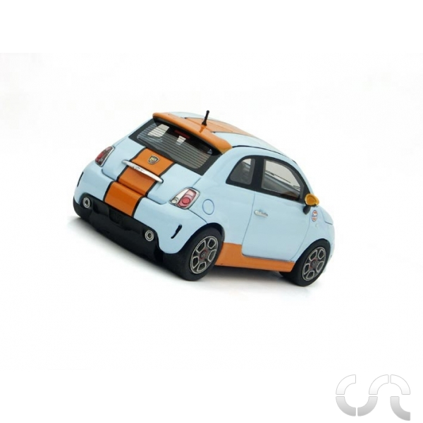 fiat 500 abarth gulf racer silverline casaslotracing. Black Bedroom Furniture Sets. Home Design Ideas