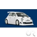 Fiat Abarth 500 Assetto Corse Kit blanc