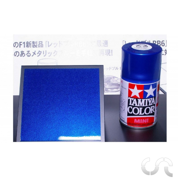 peinture acrylique en bombe bleu nacr red bull tamiya. Black Bedroom Furniture Sets. Home Design Ideas