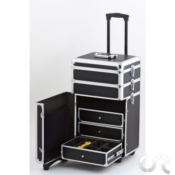 valise de rangement trolley en aluminium mb slot. Black Bedroom Furniture Sets. Home Design Ideas