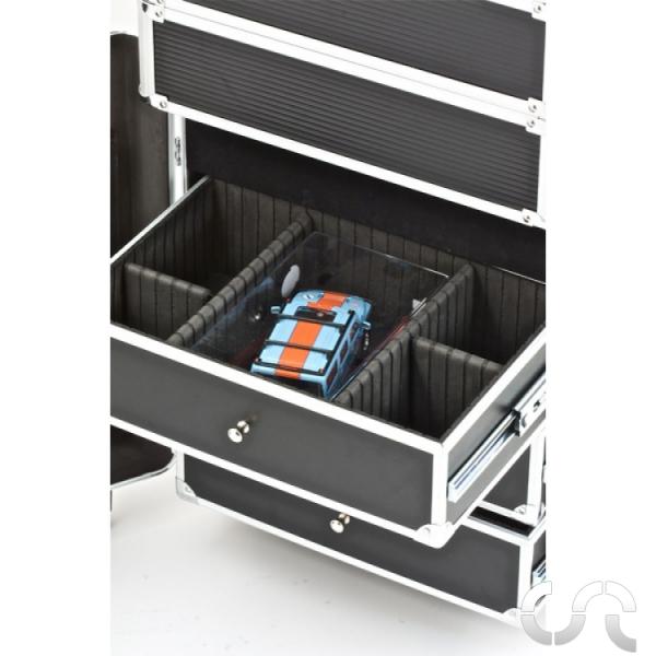 Valise de rangement trolley en aluminium mb slot casaslotracing - Rangement valise optimise ...