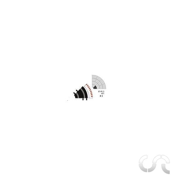 bordure ext rieure courbe r1 ninco casaslotracing. Black Bedroom Furniture Sets. Home Design Ideas