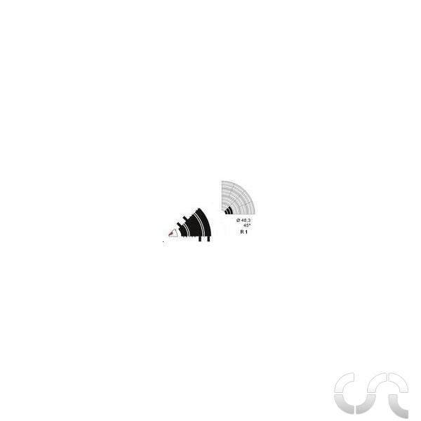 bordure int rieure courbe r1 ninco casaslotracing. Black Bedroom Furniture Sets. Home Design Ideas