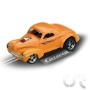 "Hotrod '41 Willys Coupe (Orange) ""Supercharged"""