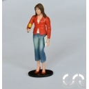 Figurine Marion La Journaliste