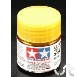 Peinture acrylique jaune translucide tamiya casaslotracing for Peinture pour email